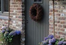 home: front door...