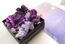 Head dress Purple