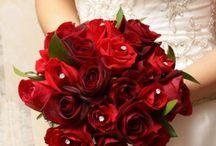 Wedding boquet and flowers