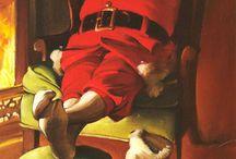 Artist:  Sundblom, Haddon / great santa artist / by Ilona Terry