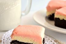 Brownies or Bar cakes with recipes
