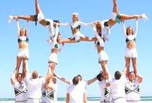 Cheerleading! / by Chansie Willis