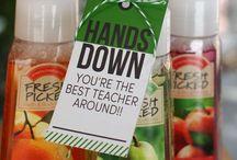 Teacher gifts / by Marcy Schmeltz