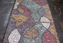 Mosaic paths and tiled