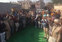 Massive support in Ghanaur