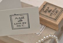 handmade rubber stamp uk
