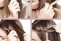cute hair ideas / by Emily Christensen