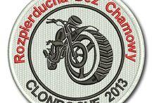 Naszywki firmowe, sportowe, motocyklowe, motoryzacyjne / Haftowane komputerowo naszywki według własnego projektu. Naszywki dla klubów sportowych, motoryzacyjnych, kół wędkarskich i strzeleckich. Naszywki i haft dla klubów motocyklowych.