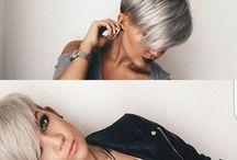 silber haarkurz