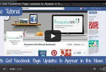Social Media Tips / Social media tutorials, tips and tricks. Learn tips for Facebook, Pinterest, Twitter, Google+, YouTube and more!
