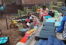 temporary gardens / parks