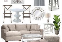 Re- thinkin' the family room  / by Deb For Blue House Boutique