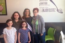 Suzy Swirl Fundraising 2014 / Thank you to Miss. Teen Lake County for hosting a fundraiser at Suzy Swirl in Gurnee, IL!!!