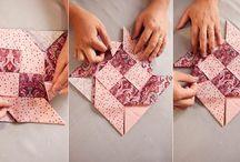 apoio de mesa origami