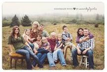 Family Photo Ideas / Family and group posing ideas.