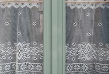 chrochet curtains