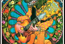 PSYCHEDELICS ROCK / Some of my favourite Music related Artwork & Artists