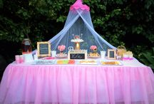 Princess Party Ideas / Party ideas for: Princess Party, Fairy Party, Ballet Party, Little Girls Party