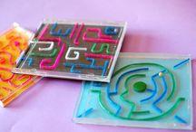 DIY gry zabawki dla dzieci