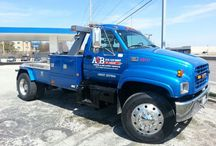 A2B Towing & Recovery / 24 HR Tow Service / by COMPLETE AUTO BODY & REPAIR
