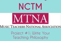 Piano Lessons: MTNA Certification