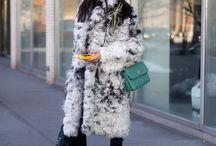 Зимние уличные стили