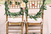 krzesła ślub