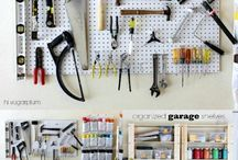 Garage ideas / by Stephanie Somerville