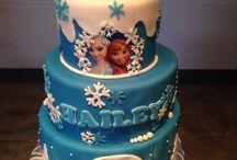Verjaardagstaart Frozen