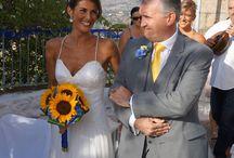 Lesley Cutler Beach wedding dresses / Beautiful gowns suitable for a beach wedding.