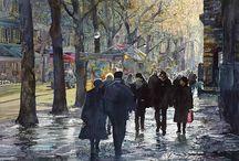 Art - Watercolor - John Salminen