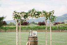 [ Vineyard Wedding Inspiration ] / inspiring wedding photos and decor details from vineyard weddings