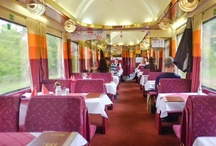 Dining Cars: Train Travel from Bratislava to Prague / by My Life's A Trip