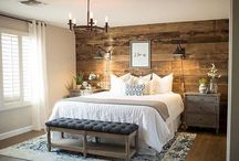bedroom decor/hout / hout idees