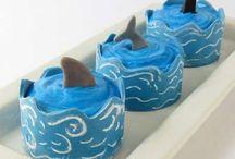 Cupcakes marineros. / Cupcakes marineros y con un estilo muy playero. ¡Geniales para el verano!