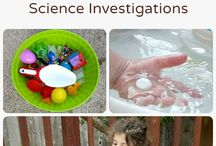 Toddler activities - discovering, nature & science / Activities for the ages 1-2