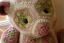Knitting,crocheted, sewing for children