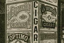 Vintage cigars / Immagini di sigari e accessori del passato
