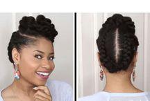 Black nstural hair styles