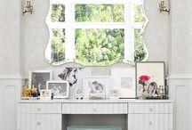 closet vanity setting