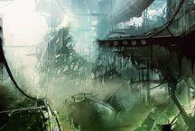 Greenpunk inspiration / Inspiración para mis nuevas historias. :)