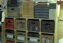 Garage storage and ideas / by Julitta Dalfonso