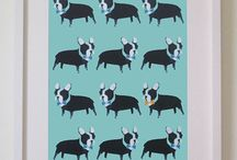 Prints / Funky animal prints