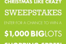 #BigLots Christmas Like Crazy Sweepstakes / by Dawn May-Bradley