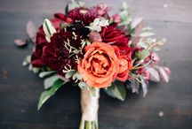 Jesslyn + Jeff / COLOR + STYLE: Red, orange, green; bright and bold.