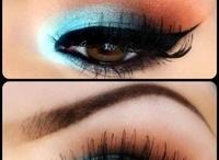 Blue Makeup on Brown Eyes