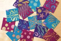 Quilting, modern quilting/art quilts / Art quilts, mixed media, ...and anything non-traditional