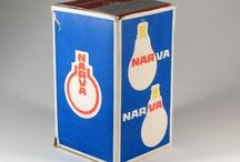 NARVA - oświetlenie na starej reklamie