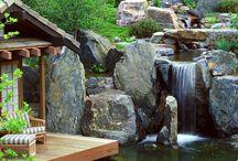 вода река водопад