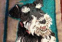 Rug Hooking - Animals / by Pamela Brown Welch